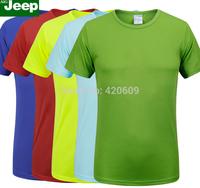 New Fashion 2014 Men Sport Shirt Brand Quick Dry Bamboo Fiber Designer Men T-Shirts Outdoor Cycling Slim Fit Tops Fitness Shirts