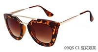 2014 Fashion oculos de sol feminino Sunglasses brand designer Sunglass Cat Eye Sun Glasses For Women Free shipping