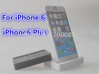 1Pcs Desktop Data Sync USB Cradle Dock Charger Station For iPhone6 / iPhone 6 Plus,White Black