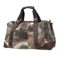 elegant camo color fashion canvas&cow leather patchwork travel bags ,new big handbags L141AI03