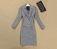2014 new fashion models free shiping best quality Little jacket vest dress suit