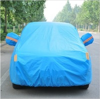 Explosion of automotive supplies car coat thickened flocking waterproof sunscreen cover for car manufacturers selling