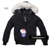Free Shipping New Warm Womens&Mens Expedition Parka Goose Down Jacket Coat 4 Colors