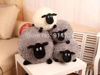 Freeshipping,2014 new style 40cm Super funny Shaun sheep creative plush toy lamb doll Timmy large ball birthday gift toys