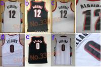 ePacket free&fast shipping Portland #0 Dillian Lillard #12 LaMarcus Aldridge retro basketball jerseys mesh or rev 30 New Mateial