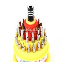 10 sets 33 in 1 Versatile Magnetic Precision Torx Screwdriver Bit Set Repair Tool Kit for iPhone Samsung PSP Laptop  wholesale