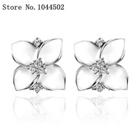 Free shipping E741  Nickle Free 18K Real Gold Plated Earrings For Women EAR ornaments