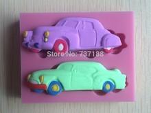 Forma de carro clássico moldes bolo Fondant molde ferramentas sabão para decoração de cozinha tools-C386(China (Mainland))