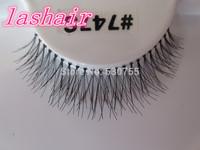 false eyelashes #747s natural style eyelash extension cheap lashes