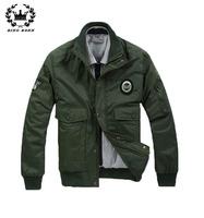 2014 New Men Winter Jackets Air Force Fashion Coat Warm Big Pocket Decarate Outwear Coats Men Outwear 11.11 On Sale