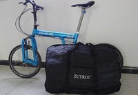 "Free shipping Folding Bike Carrier Bag Carrying Bag  for 14"" 16"" 20"" Inch bicycle"