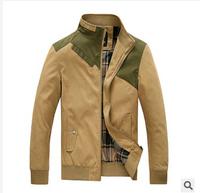 2014 hot sale men jacket Men's cotton coat fashion style jacket wholesale business and leisure jacket