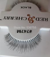 eyelash extensions false strip human hair lashes #747M