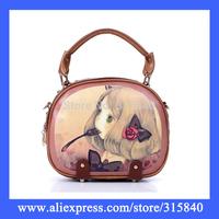 1pc New 2014 Women Handbag Ladies Clutch Bag Vintage Travel Shoulder Bags Bolsas Femininas Handbags -- BIA083 PA11 Wholesale