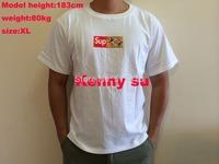 2015 newest U.S. hip hop  men 20th Anniversary  box  tshirt short sleeve 100% cotton tee free shipping