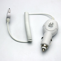 Hot ! High Quality Car Charger Adapter Cable For iPhone 4 4S 3 3GS For iPad 2 3 For iPod Touch 4 3 2 For Nano Car Charger
