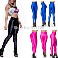 2014 Autumn new fashion zipper designer fluorescent candy colors sexy Hip sport Leggings women Leggings for women,S-XL, yd1