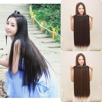 2015 новое поступление женская стильный очаровательная сексуальная парик женщин длинные мода естественная прямая...