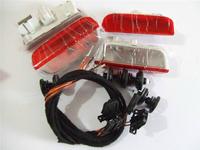 Volkswagen VW OEM Original Door Warning Light + Cable Kit (fits:Golf 5 6 Jetta MK5 MK6 CC Tiguan Passat B6 )