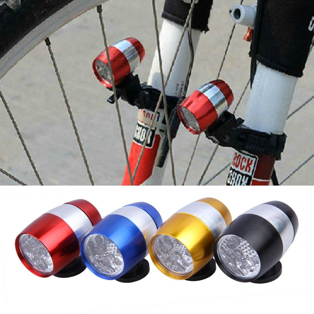 6 LED Waterproof Bike Cycling Safety Head Light Bike Flashing light Bicycle Tail Lights Safety Warning Lights BHU2(China (Mainland))