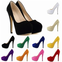 Star Nightclub And Super Thin foot bride fashion shoes super high heels for women's shoes waterproof