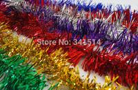 Wool top Christmas decoration color bar XMAS Tree decoration ribbon