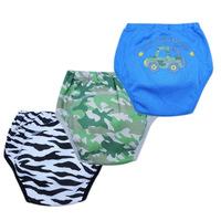 18pcs/lot  baby potty training pants waterproof boys panties cotton toddler underpants free shipping