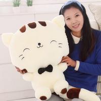 28cm Cat big plush doll plush toy lucky cat toy doll pillow cushion