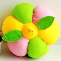 Cute Stuffed Flower Bolster Pumpkin Pillow of Halloween Toy
