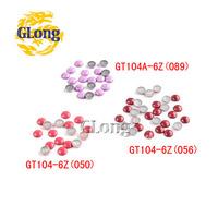 1000pcs Mix Colors 6mm Hot Fix Nailhead Aluminum DIY Accessories For Bag Shoe Phone Case Garment #GT104A-6Z(050/056/089 (Mix-s))