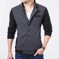 Men's clothing 2014 Winter Jacket Men Coat Fashion Casual Jacket fashion slim stand collar jacket outerwear MK.11