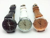 Personalized retro minimalist leather waterproof watch1011 41572425189
