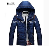 Free Shipping 2014 MENS Outerwear & Coats WINTER DUCK DOWN Wear Woolen Down jacket coat Climbing Hiking JACKET WARM COAT HOODED