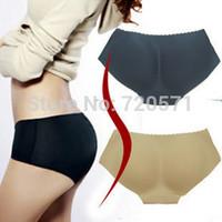 Seamless Bottom sculpting padded hip pad pants hip pants fake ass fake hip buttock ladies underwear XS/S/M/L/XL