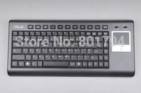 Stock Promotion-2.4G Wireless Keyboard for Media Center and HTPC-K8,Czech Republic/Slovakia Version,Touchpad+USB Receiver(China (Mainland))