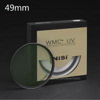 NiSi 49mm  WMC UV 13 Layers Muti-Coating Slim Lens Filter Waterproof 49mm Ultra-Thin MC UV For Digital SLR Camera