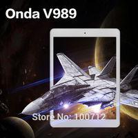 Hot! 9.7inch Onda V989 Allwinner A80T Octa Core 3G Tablet PC Retina 2040x1536 IPS Screen 2GB/32GB Android 4.4 OS 8.0MP Bluetooth