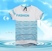 Fashion new summer short-sleeved round neck T-shirt letter tide simple short-sleeved T-shirts for men