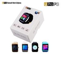 "New Smartwatch Upro 3 1.55"" Bluetooth 3.0 Wrist Smart Watch phone U-PRO P3 Pedometer for Samsung Note 2/ HTC"