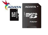 wholesale free ship ADATA  4gb 8gb 16gb 32gb 64GB Class 10 Micro SD TF Memory Card with Adapter Retail Package Flash SDHC Cards