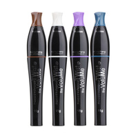 1pcs Waterproof Color Mascara Longlasting Colorful Eyelashes Makeup Mascara
