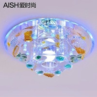 Led dome light lamp vestibular porch corridors delicate shells smallpox lamp act the role ofing crystalline light