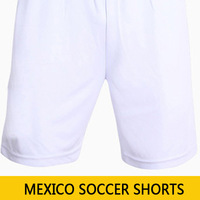 Top Thai quality 2014 World Cup Mexico National Team Soccer shorts A GUARDADO football shorts home green shorts