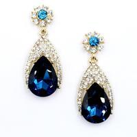 New arrive 2014 Trend fashion women earrings  full crystal vintage big statement Earrings for women jewelry Factory Price