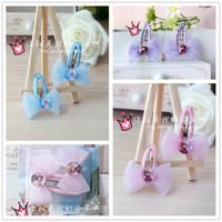 Frozen Princess Hairpin With Princess Sisters Aisha Anna Styles Wholesale 10 sets