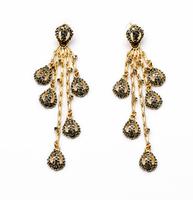 New 2014 Fashion Bijoux Jewery Long fresh punk pendant Earring For Women Free Shipping JZ100608