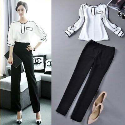 Luxury Cotton Elastic Plaid Three Quarter Pant Shirt Style Teen Girl Women