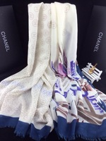 2014 New Brand Scarf Letter Scarf  Shawl for Women Cotton Scarf  Euro Fashion Classic Brand Scarves 180*70cm