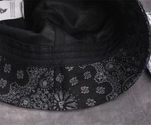 Famous Brand Fashion Weed Hemp Fimble Leaf Caps Paisley Bandana Print Fishing Cotton Unisex Casual Bucket