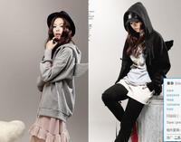 2014 New winter coat Fashion hoodies Plus Size Angel Wing Hooded Sweatshirt Hoodies Women